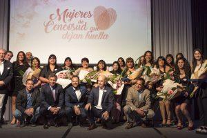 Evento de reconocimiento Mujeres de Cencosud que dejan huella