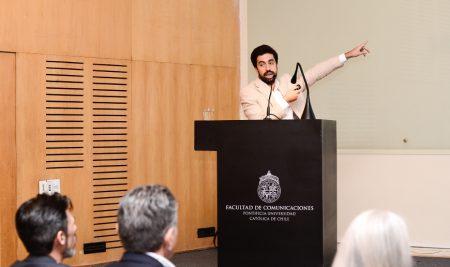 Presentación de los Premios Eikon en Chile
