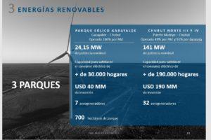 PAE energía eólica