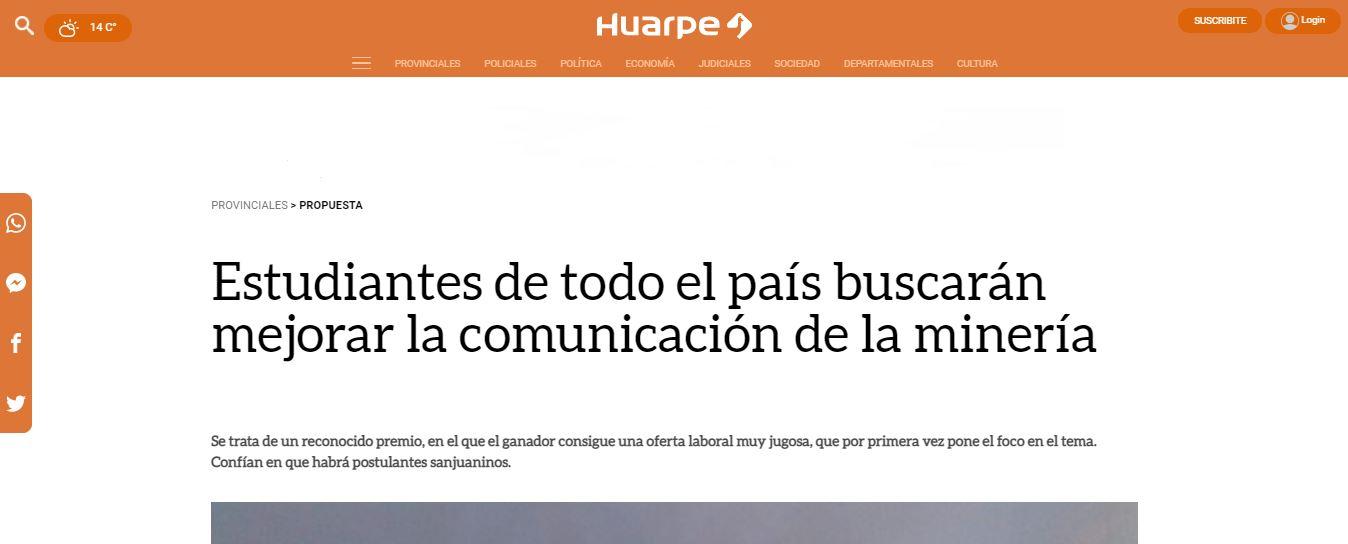 Diario Huarpe - Repercusión Eikon Jr. 2021